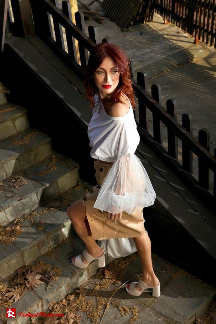 Redhead Illusion - Fashion Blog by Menia - Some skirts go everywhere - Denny Rose Blouse-09