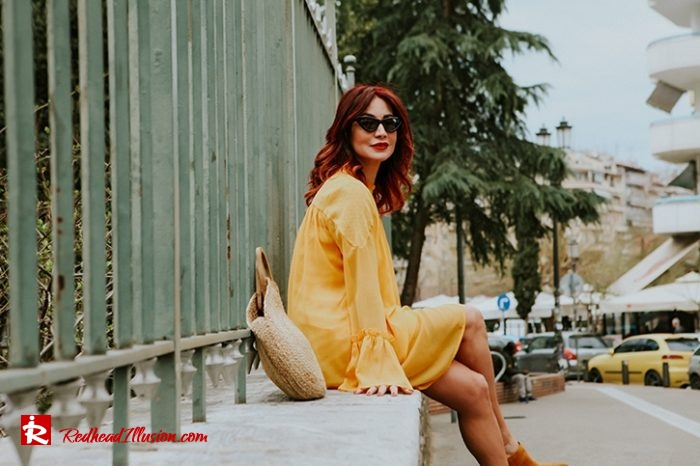 Redhead Illusion - Fashion Blog by Menia - Where is my babydoll - Missguided Dress-07