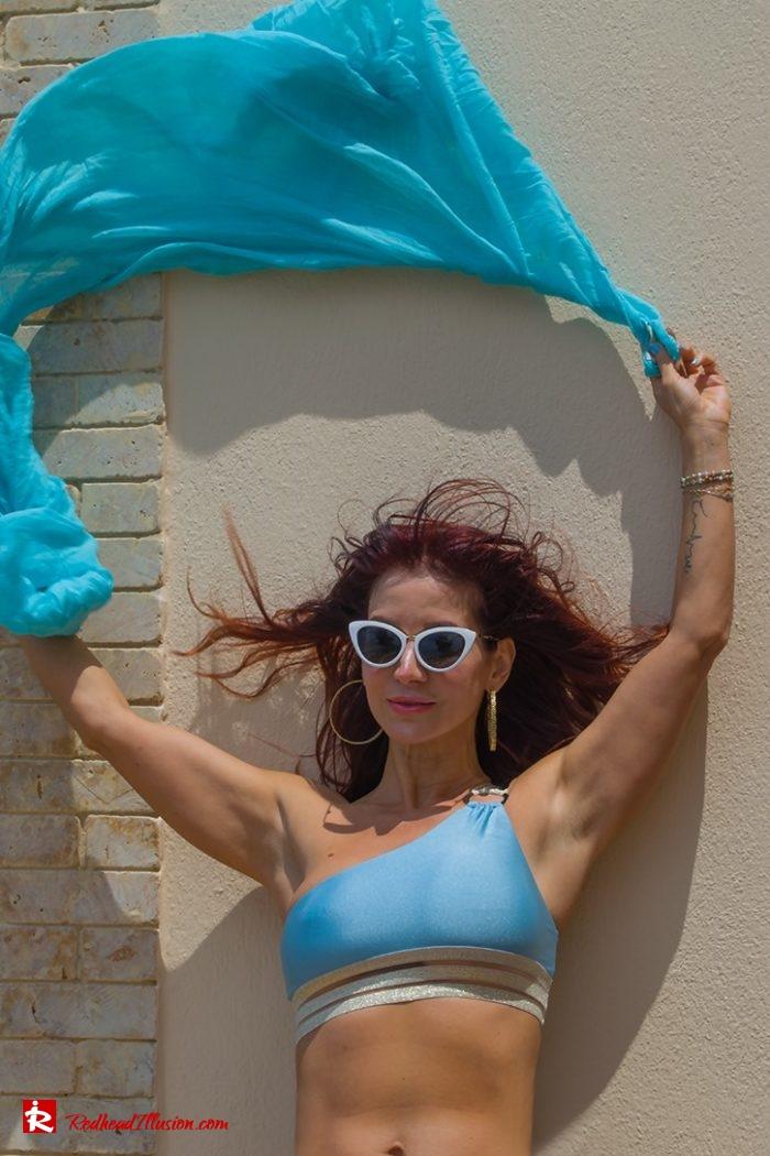 Redhead Illusion - Fashion Blog by Menia - Red Sun - Swimsuits-05