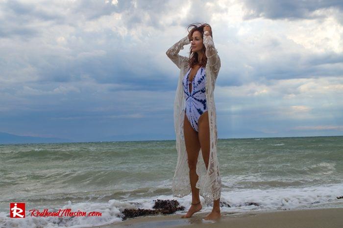 Redhead Illusion - Fashion Blog by Menia - Red Sun - Swimsuits-10
