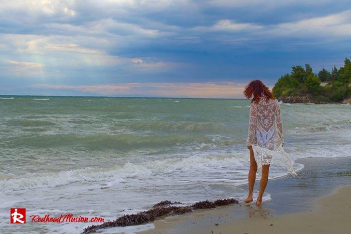 Redhead Illusion - Fashion Blog by Menia - Red Sun - Swimsuits-11
