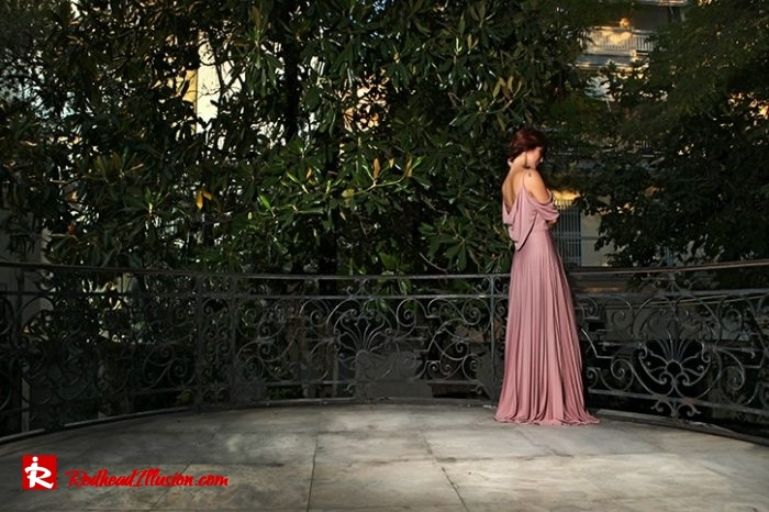 Redhead Illusion - Fashion Blog by Menia - The maxi-pleated Dress - Asos-07