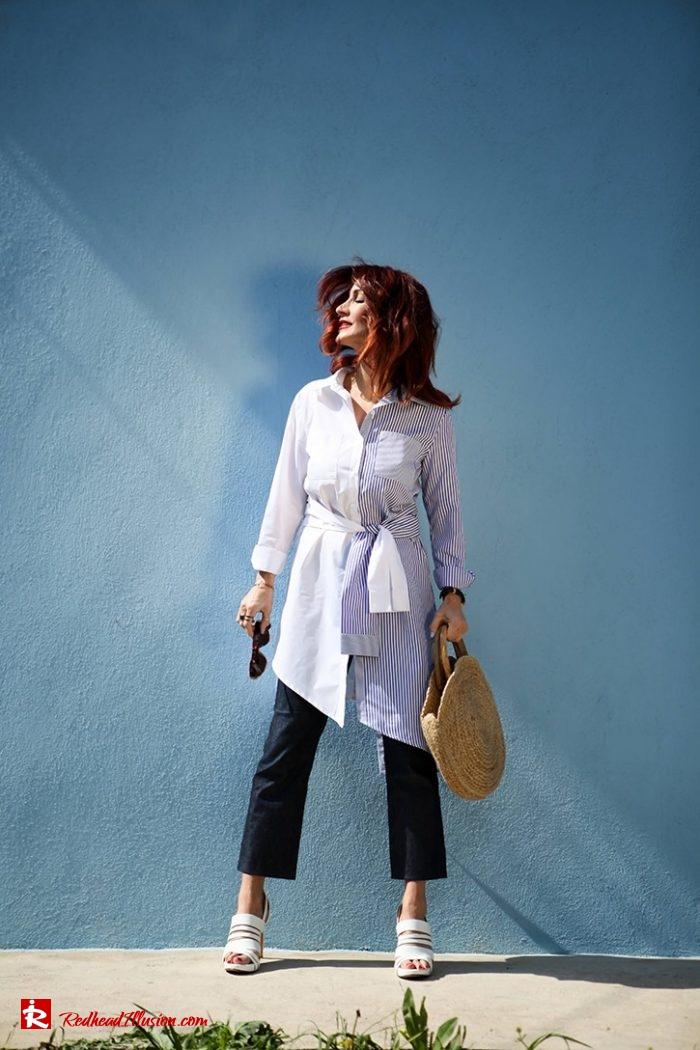 Redhead Illusion - Fashion Blog by Menia - Editorial - Get shirty in 3 ways...!-02