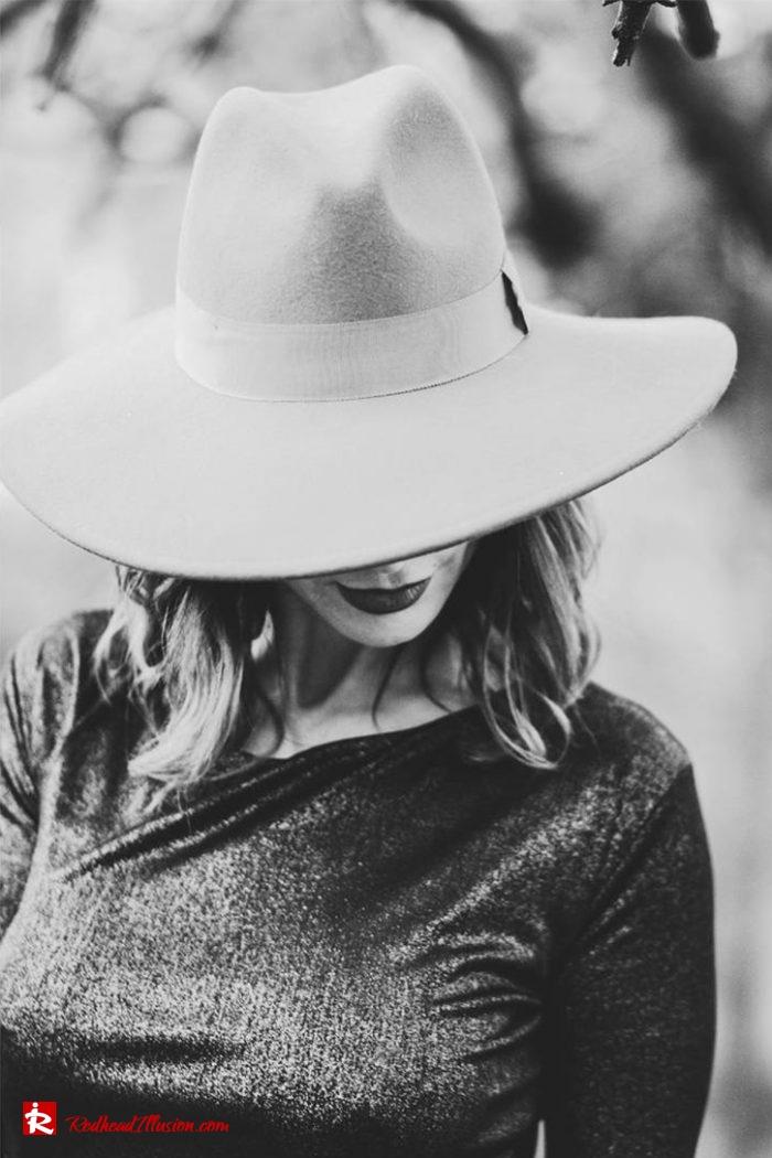 Redhead Illusion - Fashion Blog by Menia - Editorial - The hat edition-02