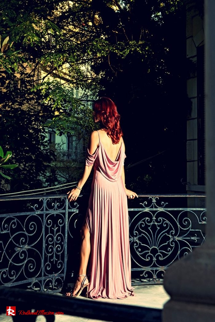 Redhead Illusion - Fashion Blog by Menia - Editorial - The maxi-pleated dress!-02