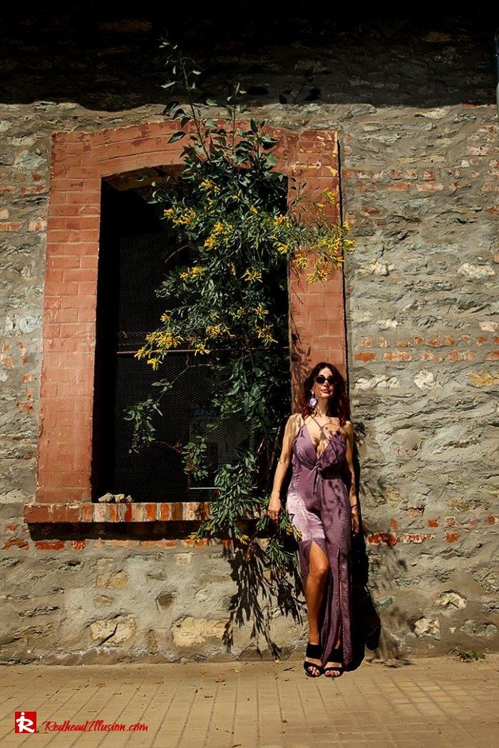 Redhead Illusion - Fashion Blog by Menia - Editorial - Purple Power-02