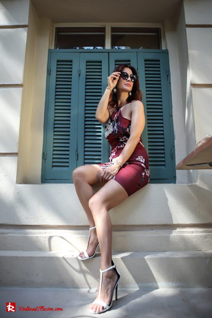 Redhead Illusion - Fashion Blog by Menia - Editorial - The summer mini dress-02