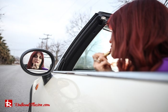 Redhead Illusion - Fashion Blog by Menia - Shoulder Pads - Asos Dress-09
