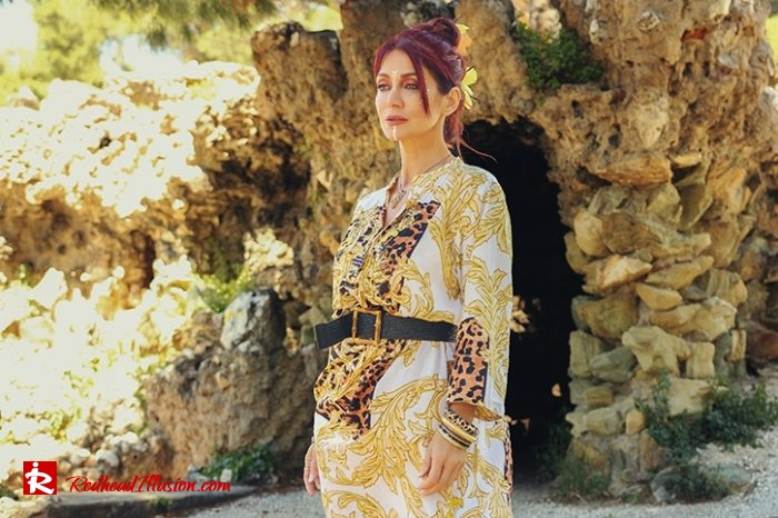 Redhead Illusion - Fashion Blog by Menia - Kaftan for the city - Antica Sartoria-04
