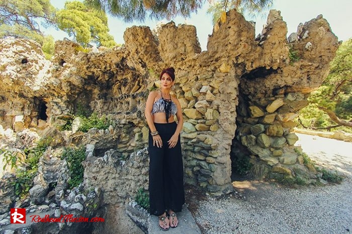 Redhead Illusion - Fashion Blog by Menia - Beach Crochet Pants-02