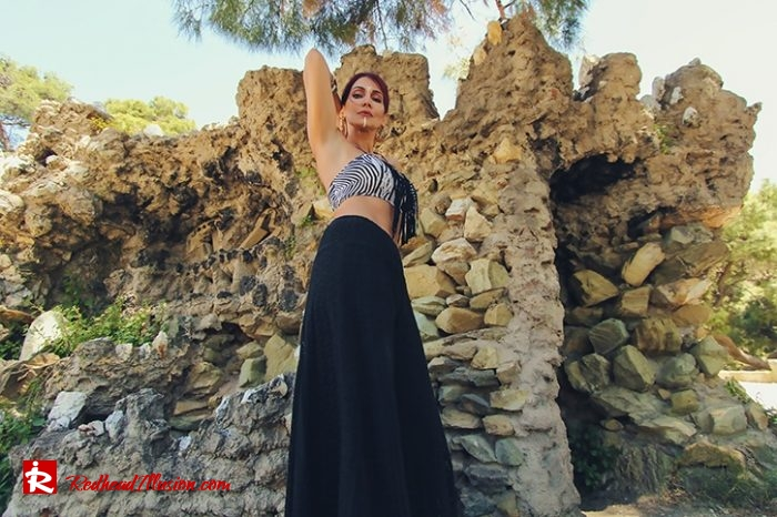 Redhead Illusion - Fashion Blog by Menia - Beach Crochet Pants-03