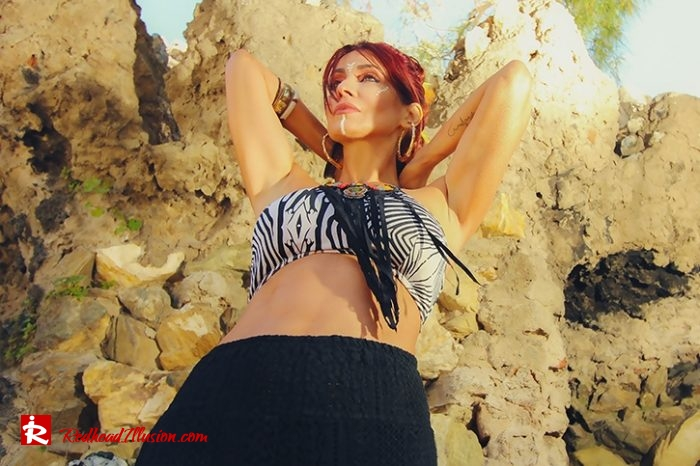 Redhead Illusion - Fashion Blog by Menia - Beach Crochet Pants-04