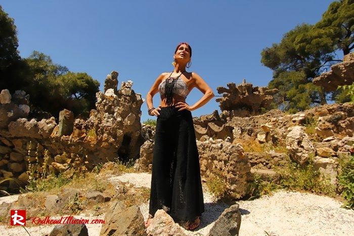 Redhead Illusion - Fashion Blog by Menia - Beach Crochet Pants-05