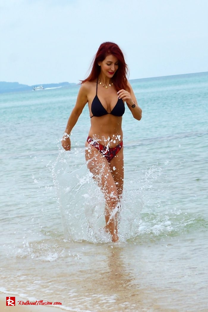 Redhead Illusion - Fashion Blog by Menia - Dreamy Swimwear-06