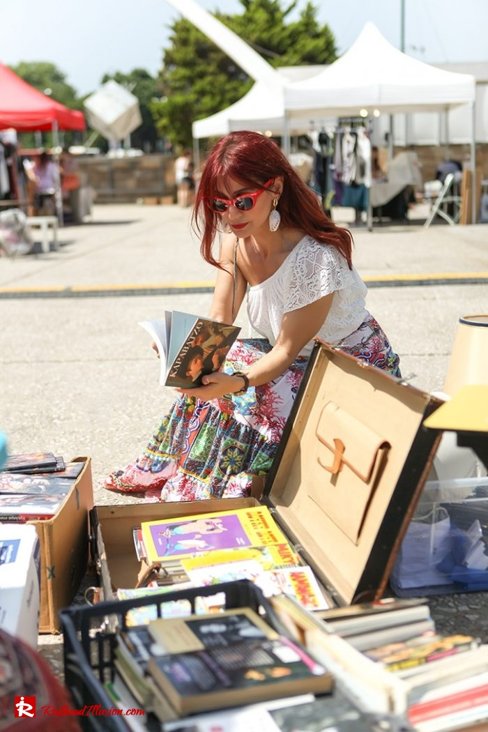 Redhead Illusion - Fashion Blog by Menia - Boho mood in Flea Market-04
