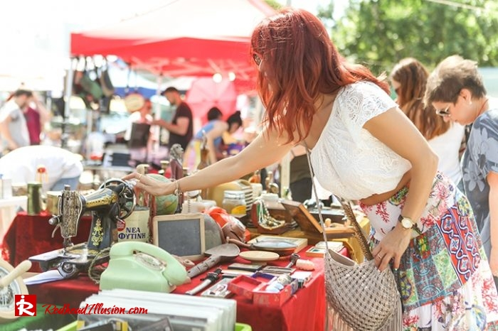 Redhead Illusion - Fashion Blog by Menia - Boho mood in Flea Market-06