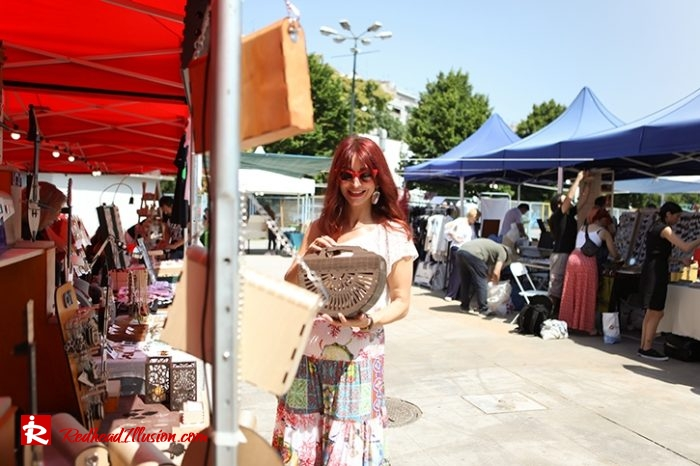 Redhead Illusion - Fashion Blog by Menia - Boho mood in Flea Market-10