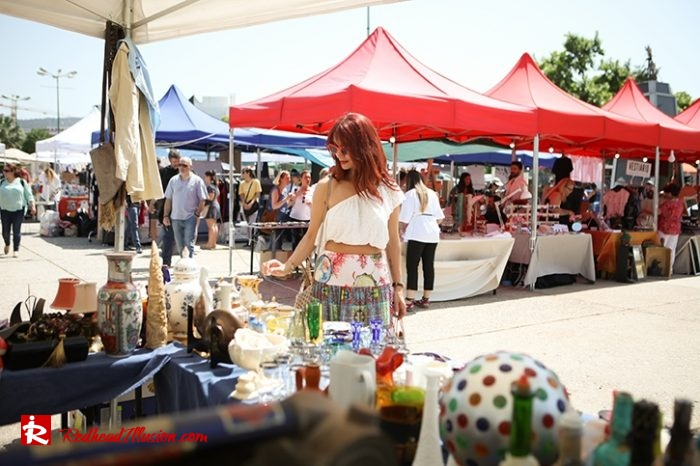 Redhead Illusion - Fashion Blog by Menia - Boho mood in Flea Market-12