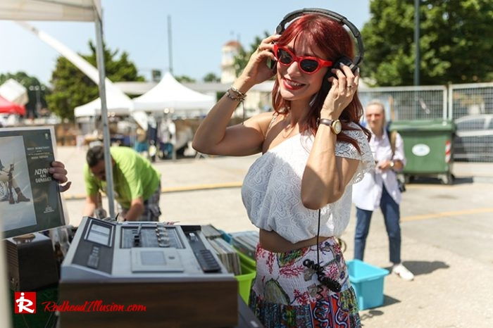 Redhead Illusion - Fashion Blog by Menia - Boho mood in Flea Market-13