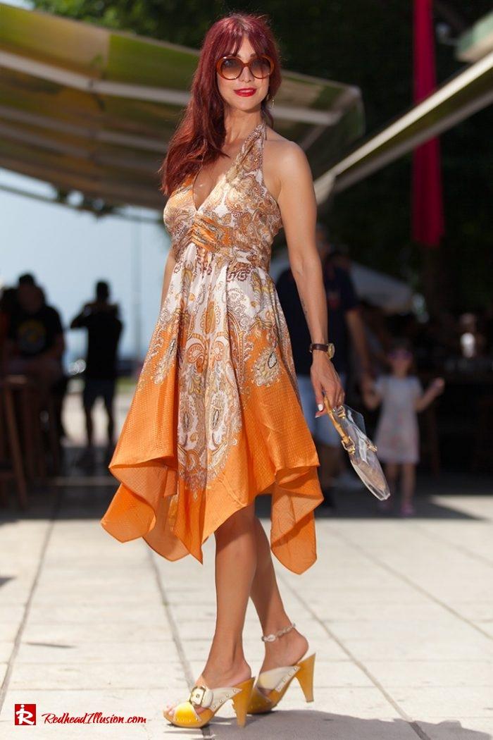 Redhead Illusion - Fashion Blog by Menia - Flirty Summer Dress-02