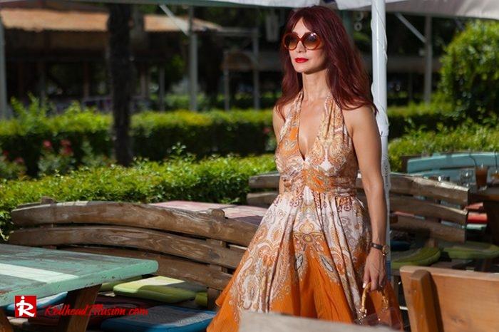 Redhead Illusion - Fashion Blog by Menia - Flirty Summer Dress-04
