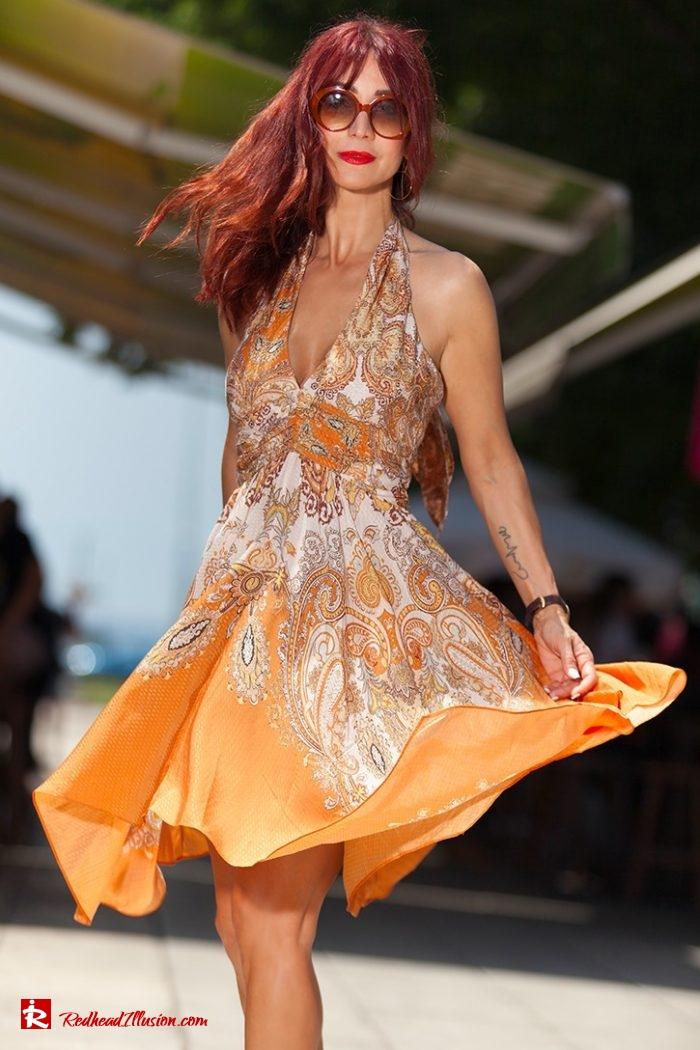 Redhead Illusion - Fashion Blog by Menia - Flirty Summer Dress-05