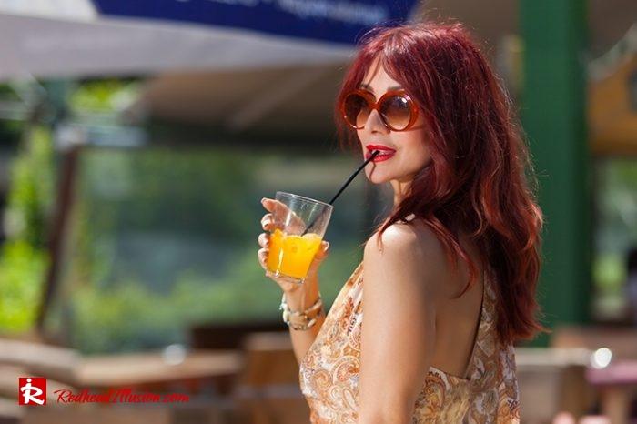 Redhead Illusion - Fashion Blog by Menia - Flirty Summer Dress-06