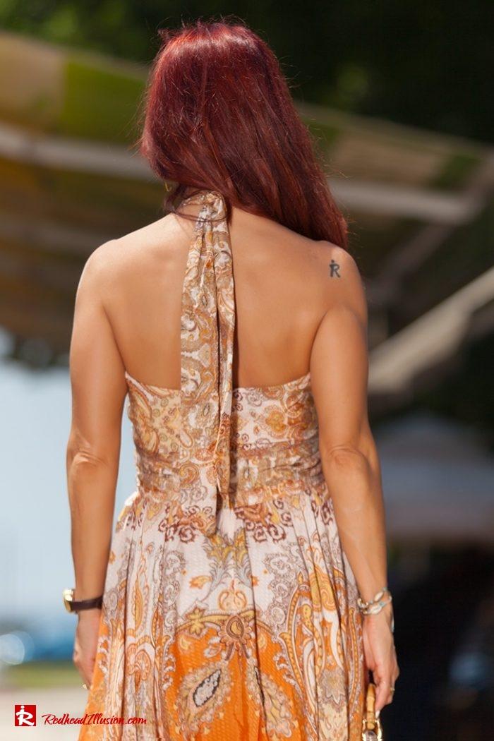 Redhead Illusion - Fashion Blog by Menia - Flirty Summer Dress-07