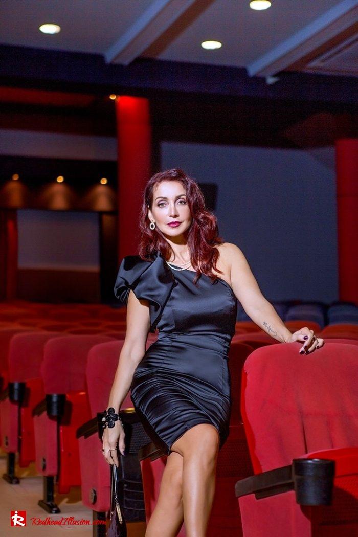 Redhead Illusion - Fashion Blog by Menia - Festive Little Black Ddress-02