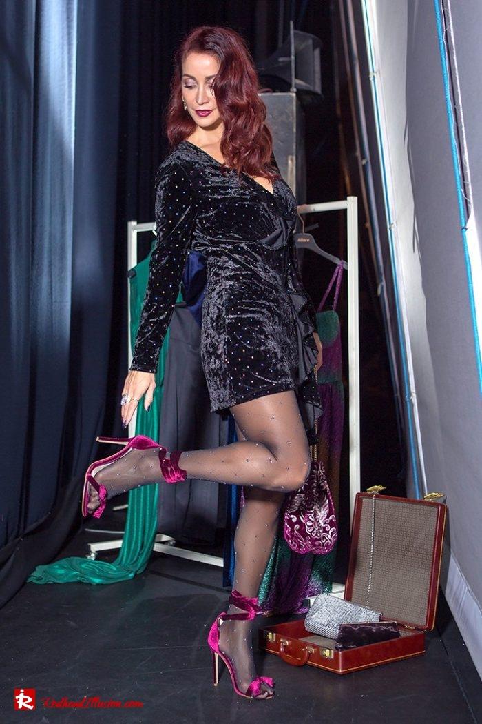 Redhead Illusion - Fashion Blog by Menia - Mini Party Dress-02