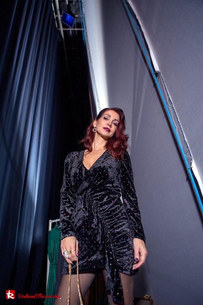 Redhead Illusion - Fashion Blog by Menia - Mini Party Dress-04