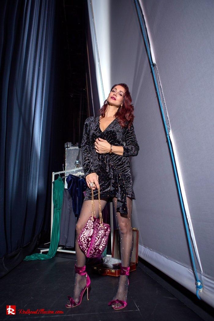 Redhead Illusion - Fashion Blog by Menia - Mini Party Dress-05