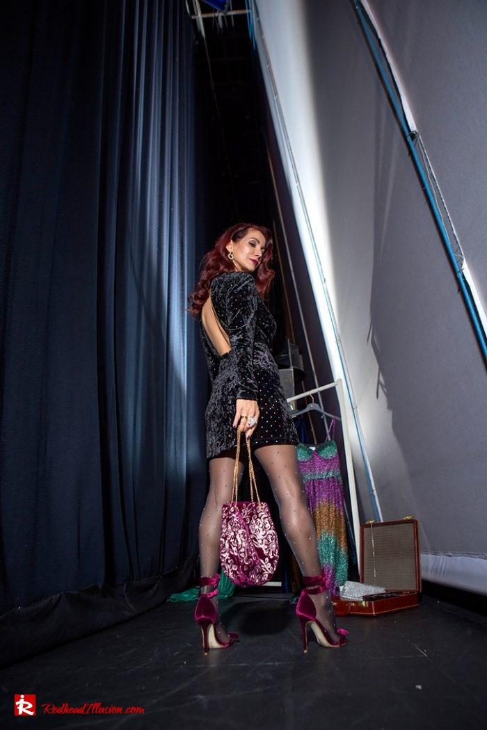 Redhead Illusion - Fashion Blog by Menia - Mini Party Dress-07