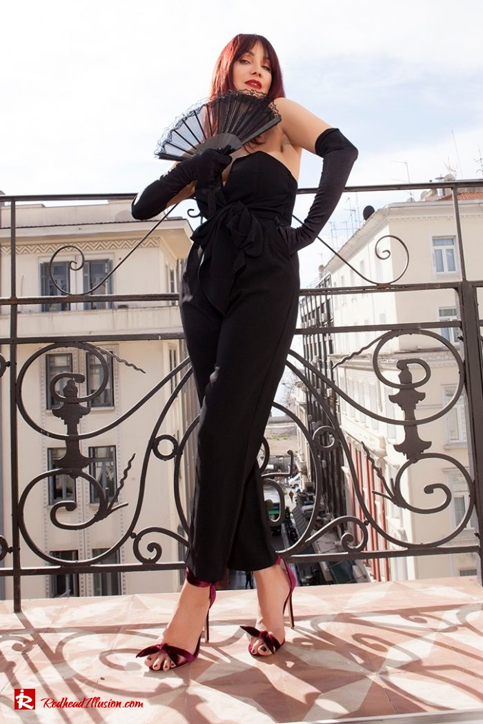 Redhead Illusion - Fashion Blog by Menia - 3 Chic Ways to Style a Jumpsuit - Way-3-01