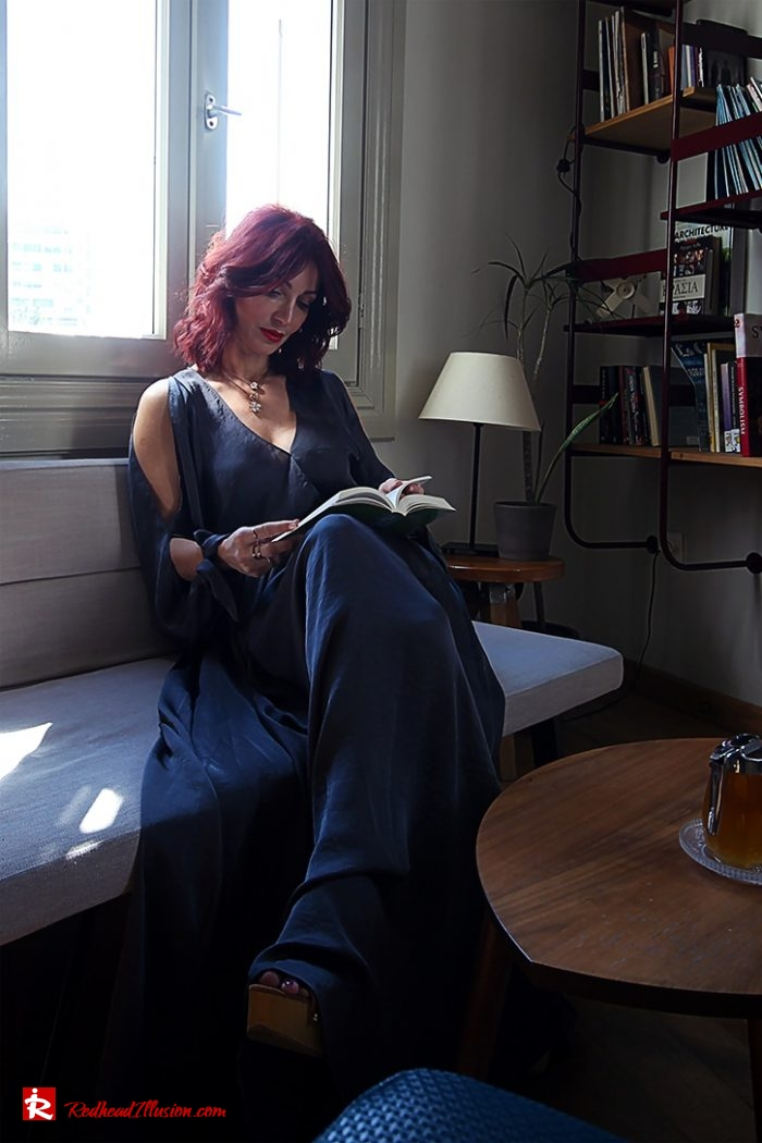 Redhead Illusion - Fashion Blog by Menia - Book is our best friend-03