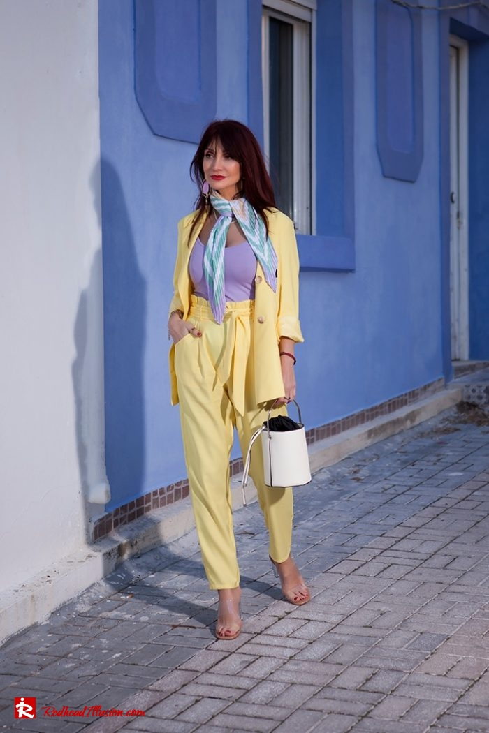 Redhead Illusion - Fashion Blog by Menia - Yellow Suit - Missguided-02-04