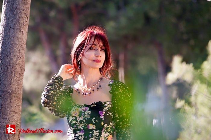 Redhead Illusion - Fashion Blog by Menia - Moderm Milkmaid Dress-06