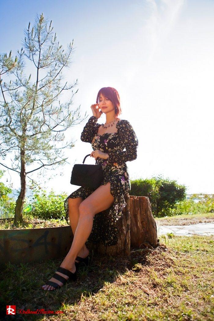 Redhead Illusion - Fashion Blog by Menia - Moderm Milkmaid Dress-07