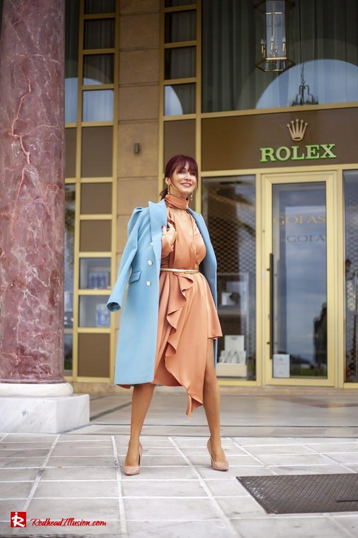 Redhead Illusion - Fashion Blog by Menia - Soft Elegance - Access Coat - Shein Dress-02