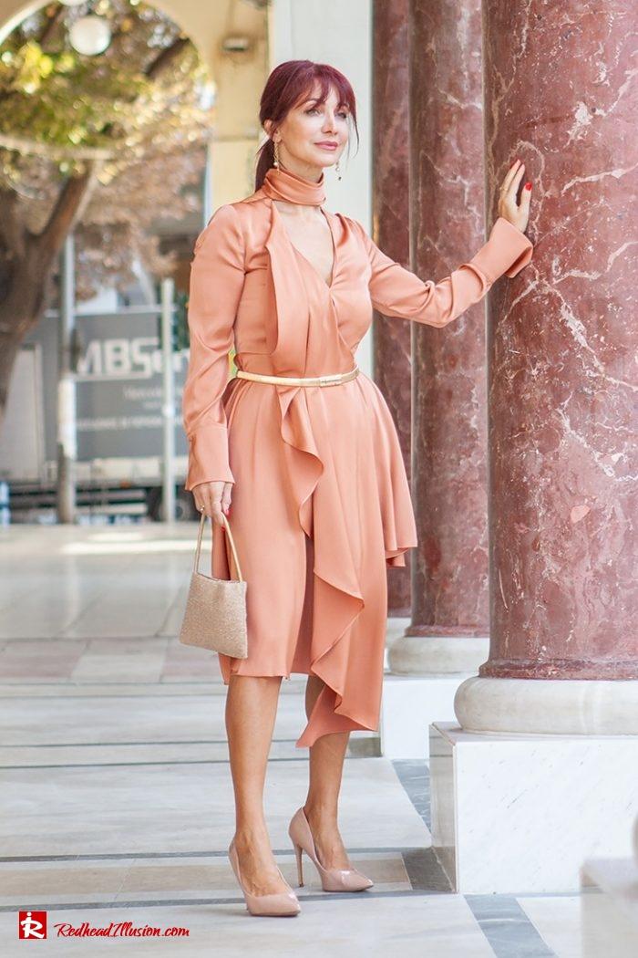 Redhead Illusion - Fashion Blog by Menia - Soft Elegance - Access Coat - Shein Dress-03