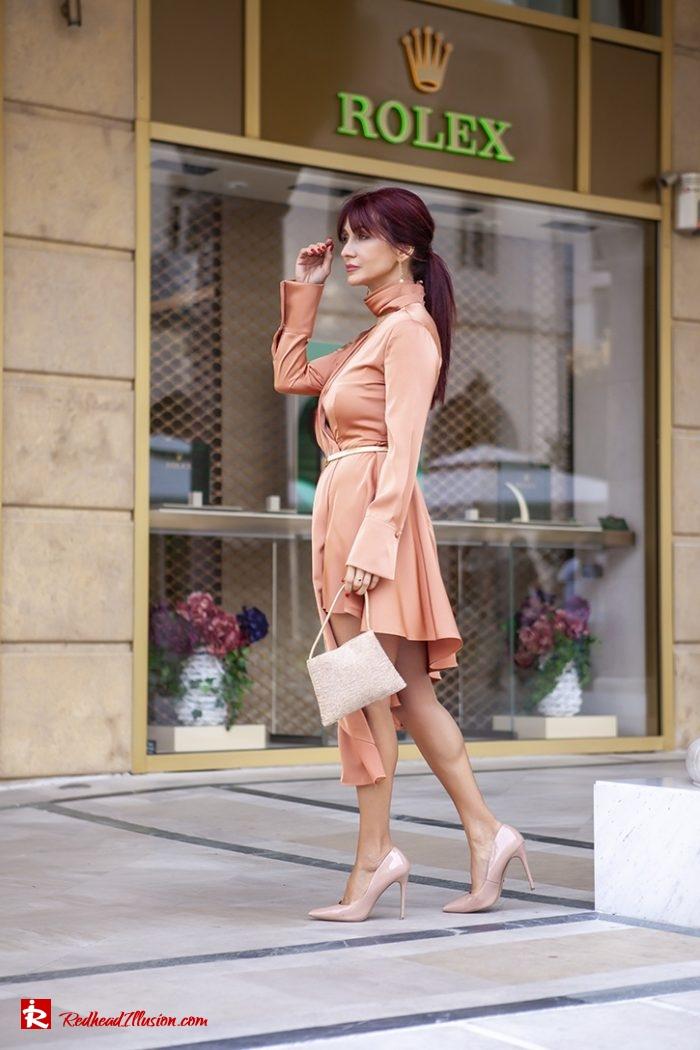 Redhead Illusion - Fashion Blog by Menia - Soft Elegance - Access Coat - Shein Dress-04