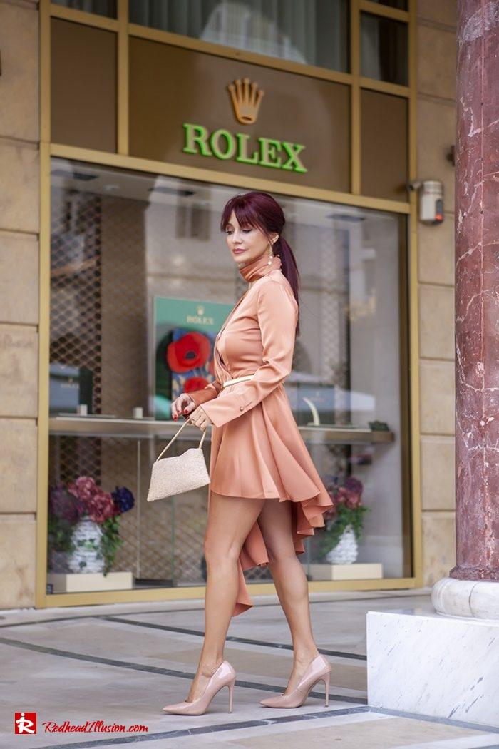 Redhead Illusion - Fashion Blog by Menia - Soft Elegance - Access Coat - Shein Dress-05