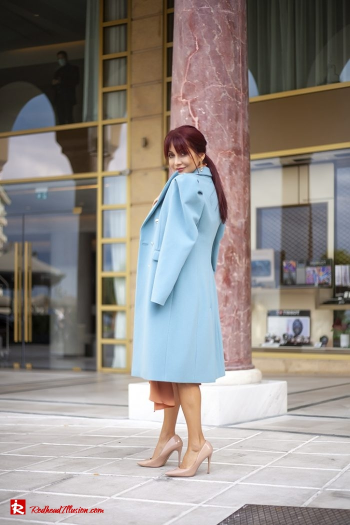 Redhead Illusion - Fashion Blog by Menia - Soft Elegance - Access Coat - Shein Dress-06