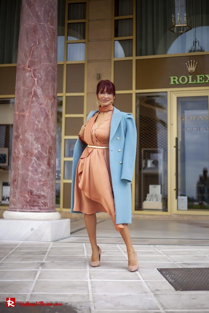 Redhead Illusion - Fashion Blog by Menia - Soft Elegance - Access Coat - Shein Dress-08