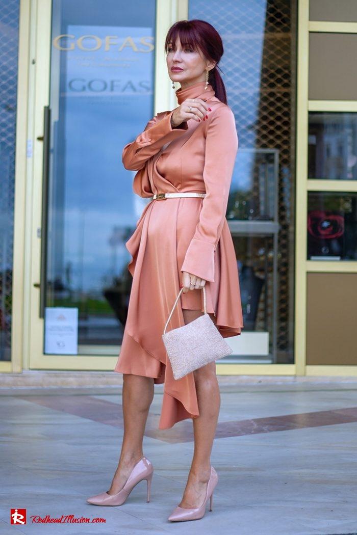 Redhead Illusion - Fashion Blog by Menia - Soft Elegance - Access Coat - Shein Dress-12