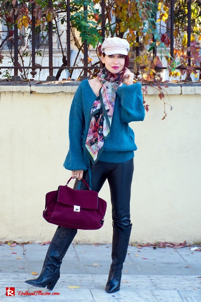 Redhead Illusion - Fashion Blog by Menia - Essential scarf Bet and Malfie-05