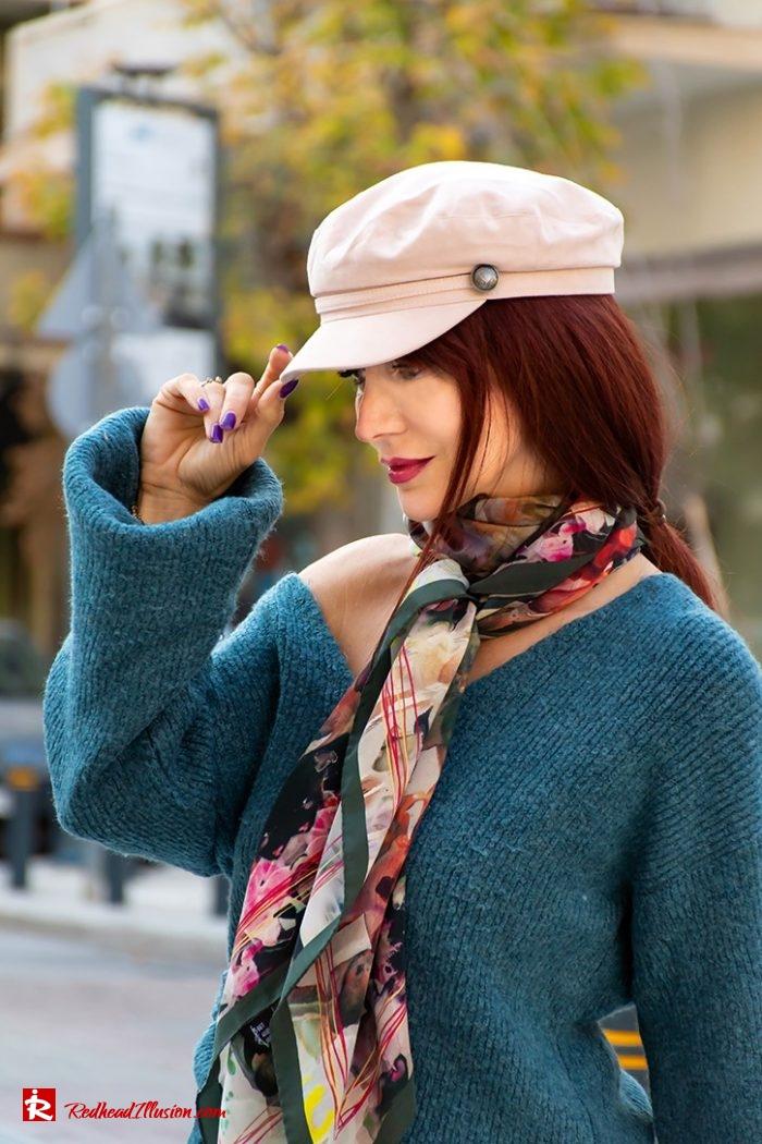 Redhead Illusion - Fashion Blog by Menia - Essential scarf Bet and Malfie-07