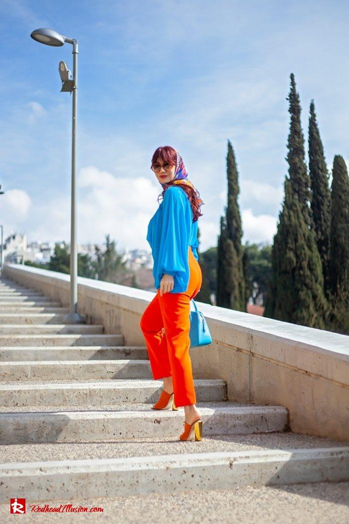 Redhead Illusion - Fashion Blog by Menia - Womens Spring Outfits With Llight Blue Shirt-02