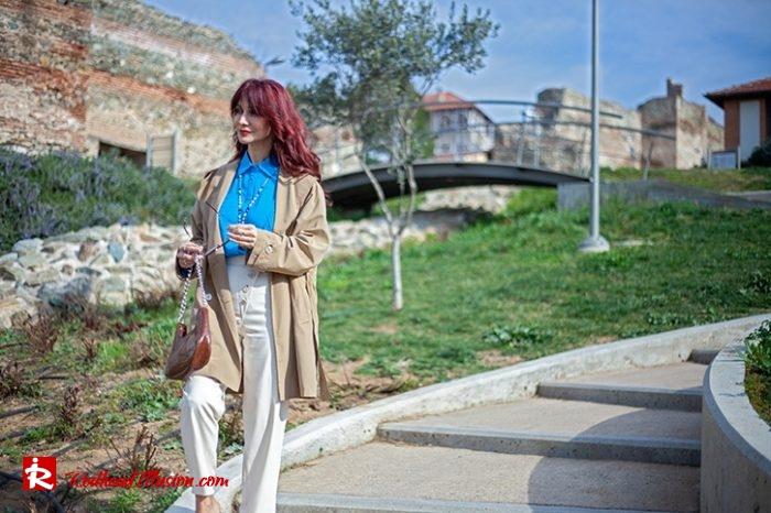 Redhead Illusion - Fashion Blog by Menia - Womens Spring Outfits With Llight Blue Shirt-03