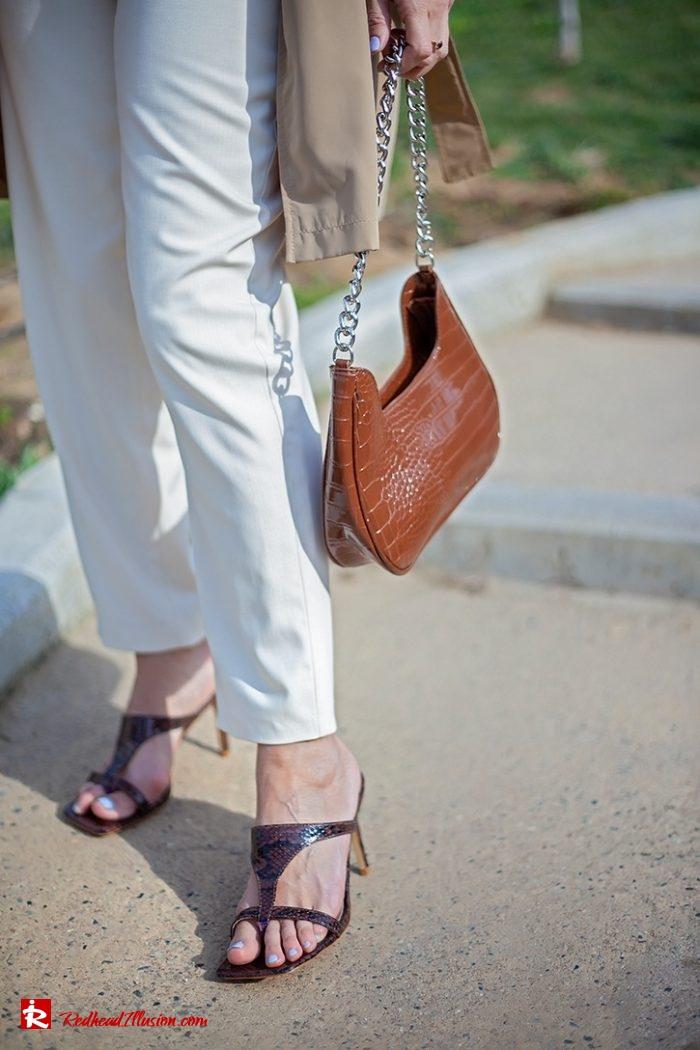Redhead Illusion - Fashion Blog by Menia - Womens Spring Outfits With Llight Blue Shirt-04